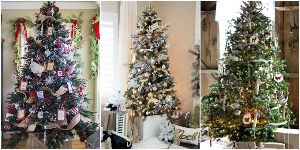30 Christmas Tree Decoration Ideas Pictures Of Beautiful