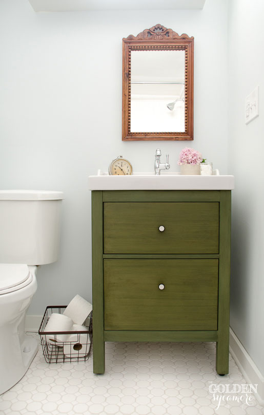New Bathroom Cabinets 11 ikea bathroom hacks - new uses for ikea items in the bathroom
