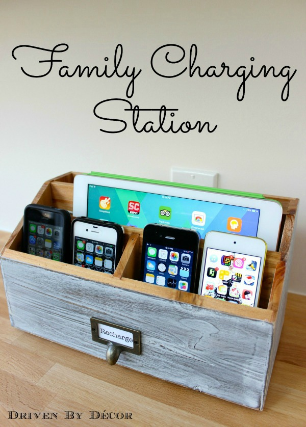 13 phone charging stations home diy projects charging station kitchen central office