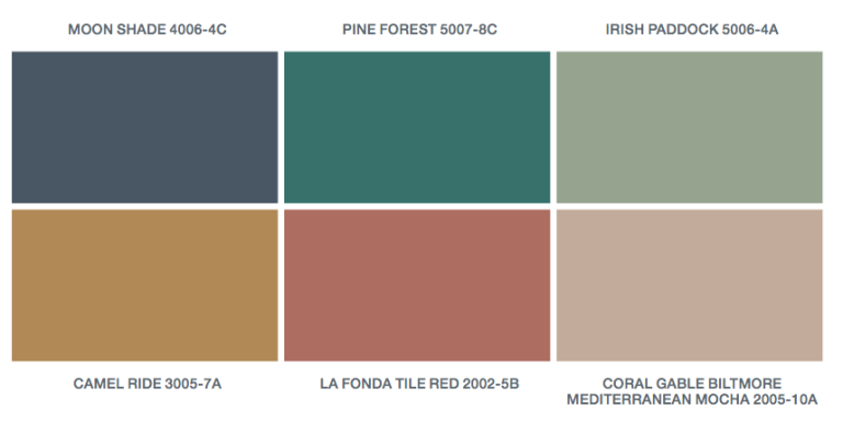 Good Paint Colors valspar 2016 colors of the year — paint colors of the year
