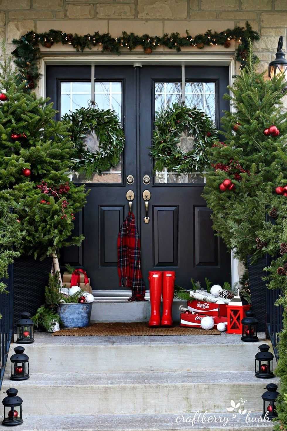 This must be the ultimate christmas yard decoration - 25 Best Outdoor Christmas Decorations Christmas Yard Decorating Ideas