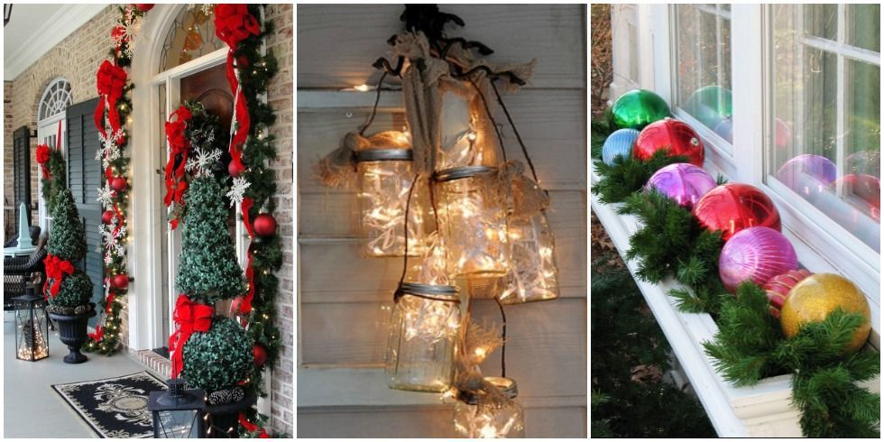 25 outdoor christmas decorations that make your whole yard shine - Outdoor Christmas Decorations