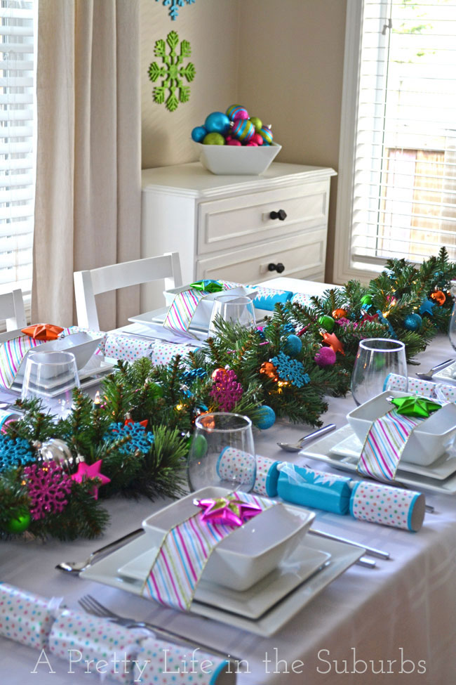 Christmas Table Decorations 35 christmas table decorations & place settings - holiday tablescapes