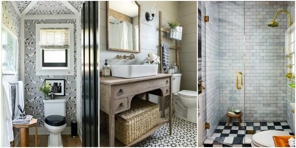 8 Small Bathroom Design Ideas