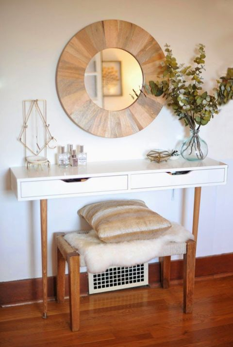 Store Makeup In A Chic Vanity