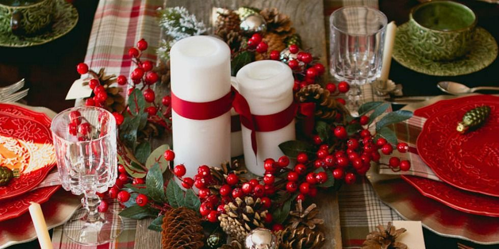 31 Christmas Table Decorations Amp Place Settings Holiday