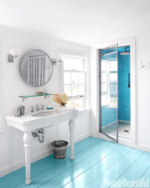 50 best bathroom colors paint color schemes for bathrooms for New england bathroom ideas