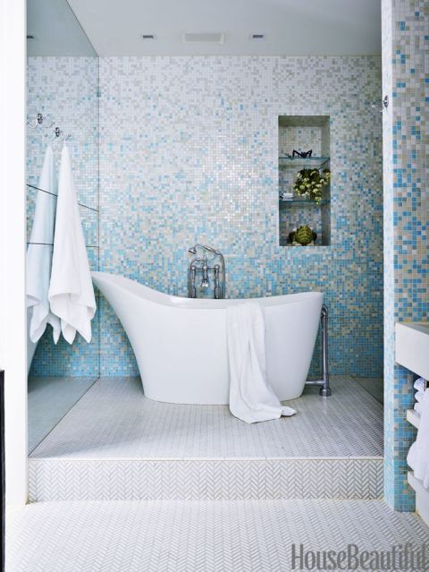 40 Tile Design Trends Forecast 2017: 40 Bathroom Tile Design Ideas