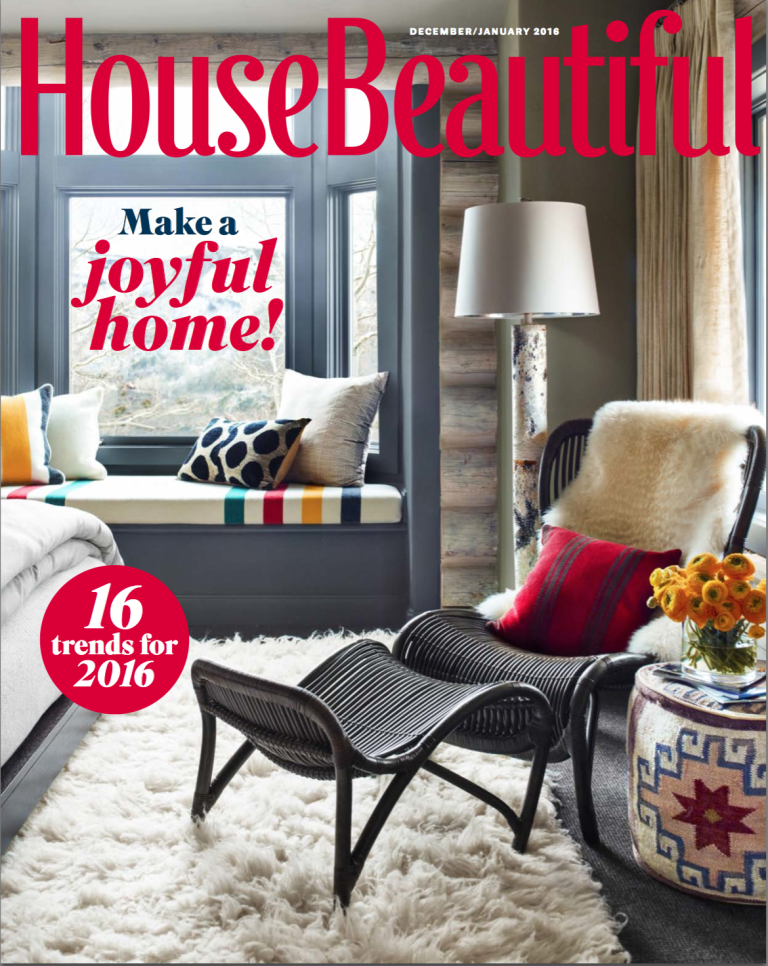 House Beautiful Mag december/january 2016 house beautiful - shopping resources