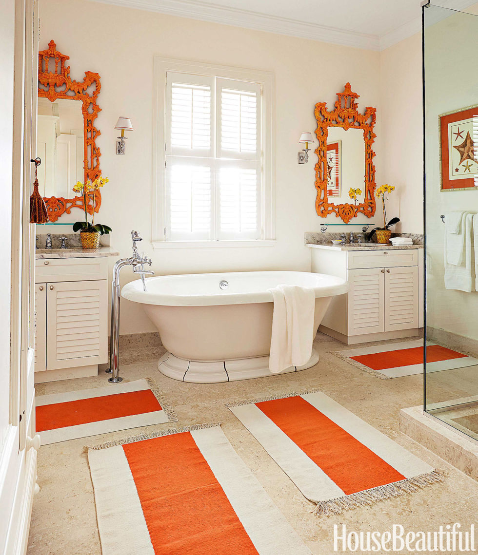 . 60  Best Bathroom Colors   Paint Color Schemes for Bathrooms