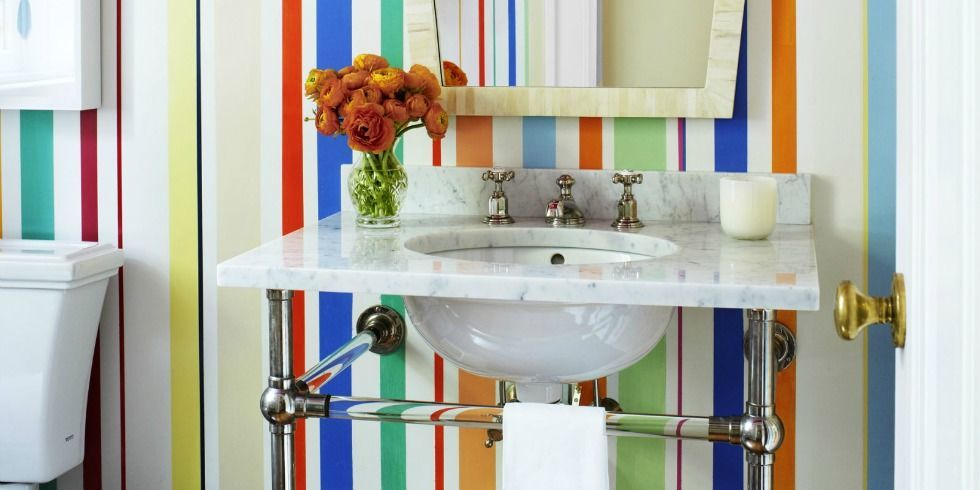 70 Colorful Bathrooms To Inspire Your Next Makeover  Bathroom Color Ideas