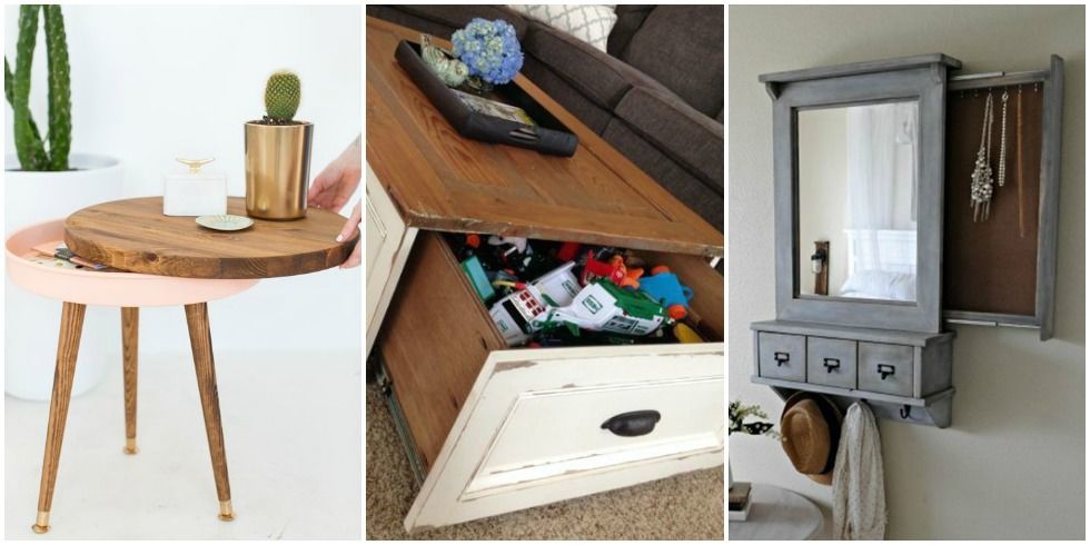 Secret Storage 12 hidden storage spots in your home - secret storage solutions