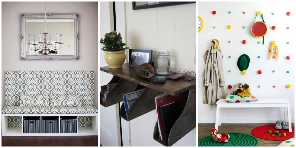 Http Www Housebeautiful Com Home Remodeling Diy Projects G2894 Entryway Ikea Hacks