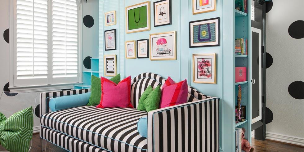 Kate Spade Decorating Tips: Kate Spade Bedroom Makeover