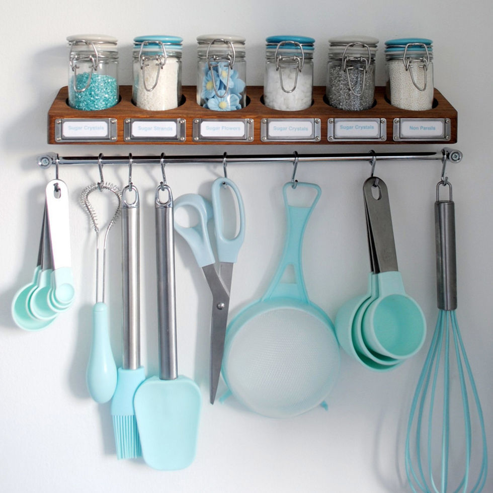 Kitchen Utensil Storage Baking Storage Ideas How To Organize Baking Essentials