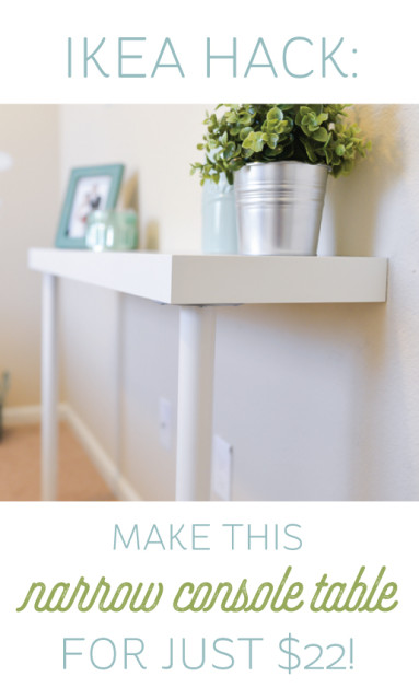 opt for only half of a console table - Console Tables Ikea