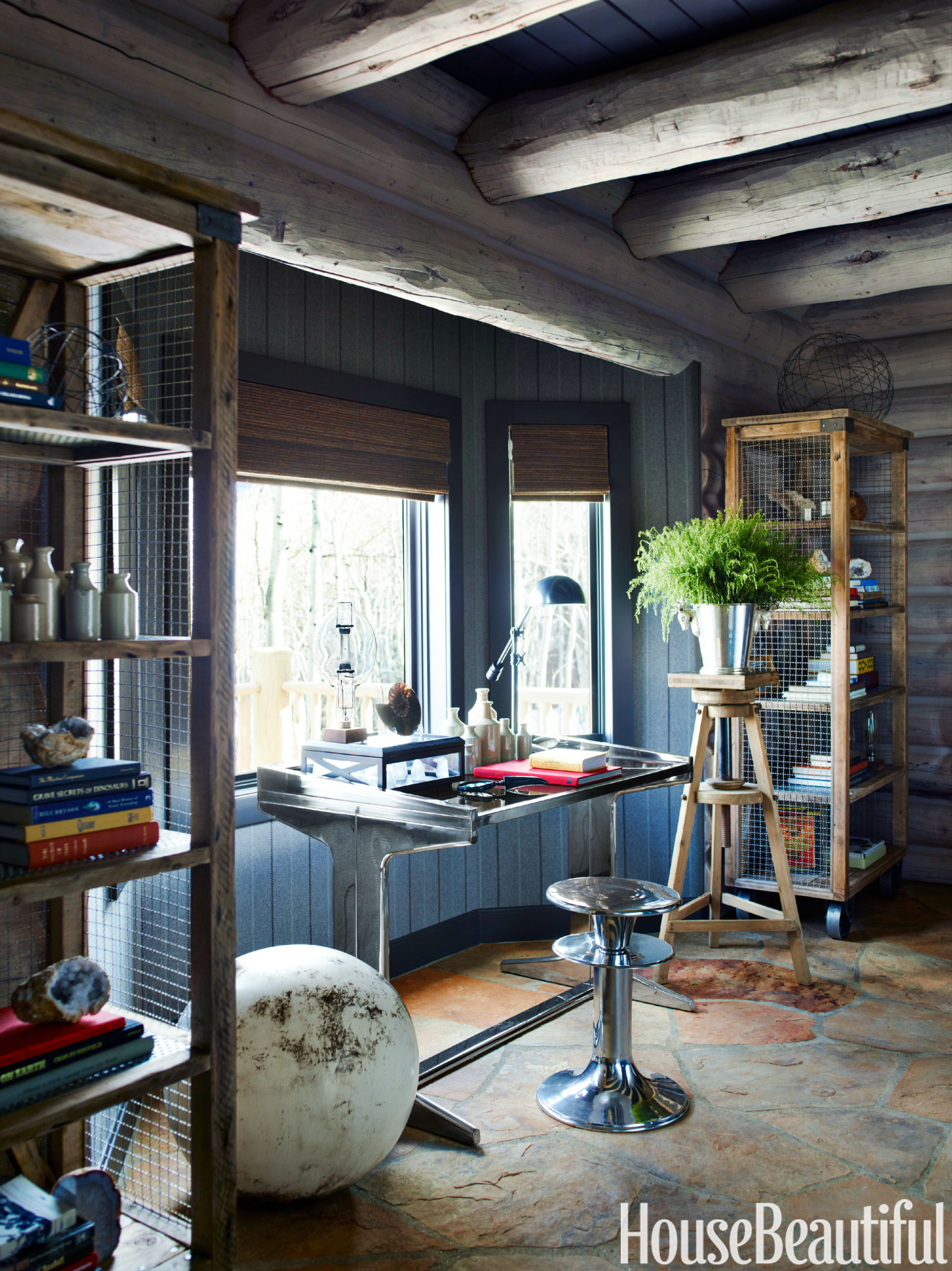 Beautiful Small Home Libraries: 60+ Best Home Office Decorating Ideas