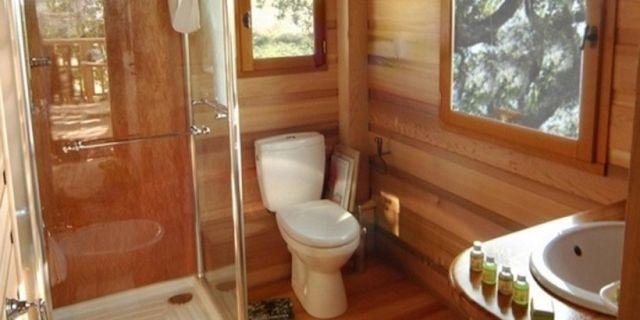 Tree House Bathroom treehouse bed & breakfast room in italy - italian treehouse in