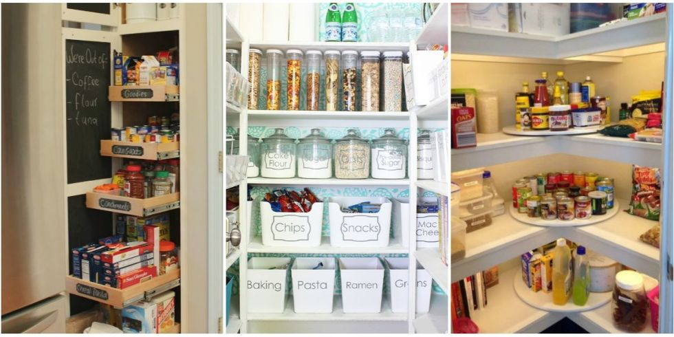 15 tricks to make your pantry feel twice as big - Organized Pantry