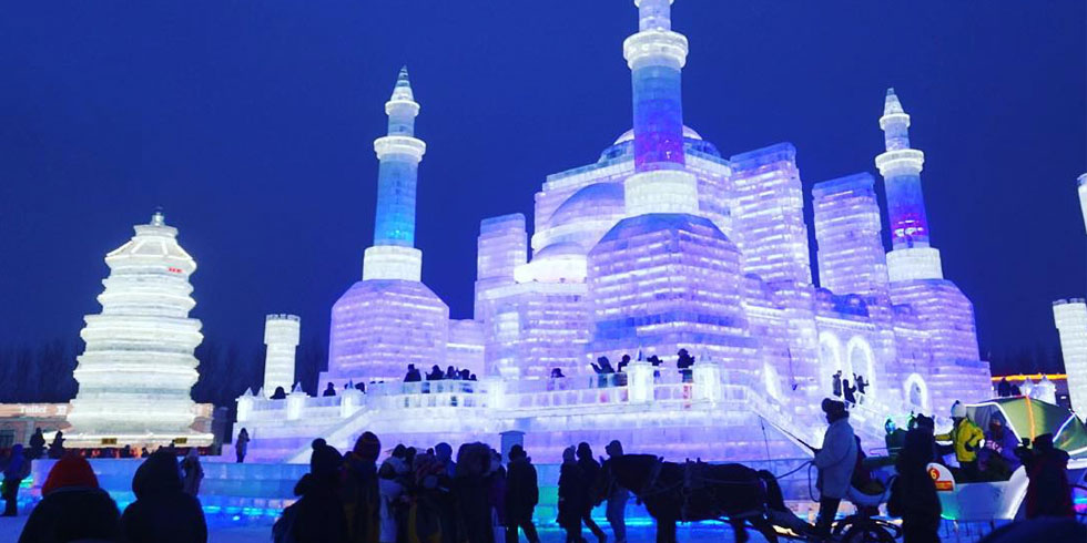Harbin International Ice And Snow Sculpture Festival 2016