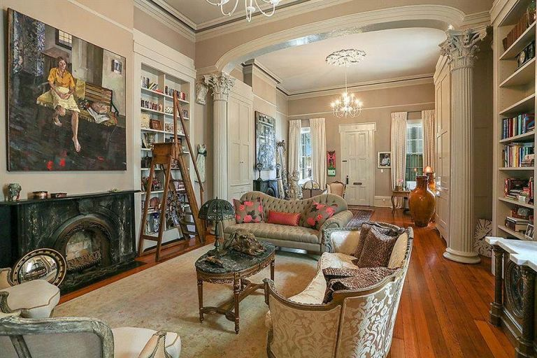 Living Room Sets New Orleans new orleans home tour with victorian balconies - real estate in