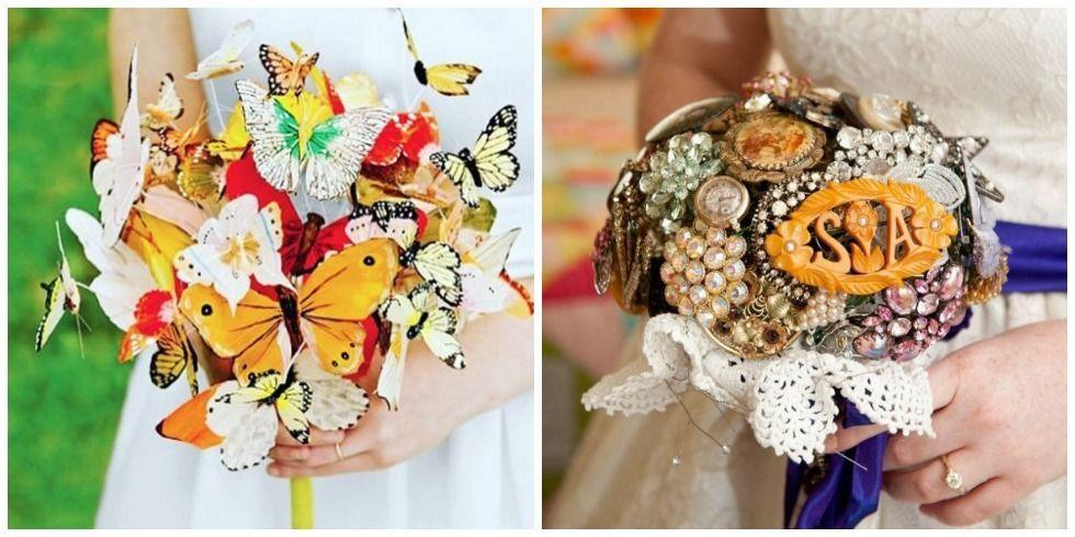 Bouquets That Aren 39 T Flowers Alternative Wedding Bouquet