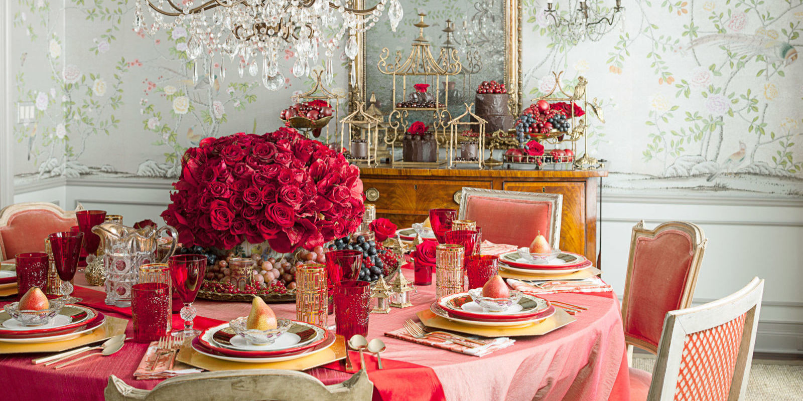 12 valentine 39 s day table decorations romantic tablescape for Table design for valentines day