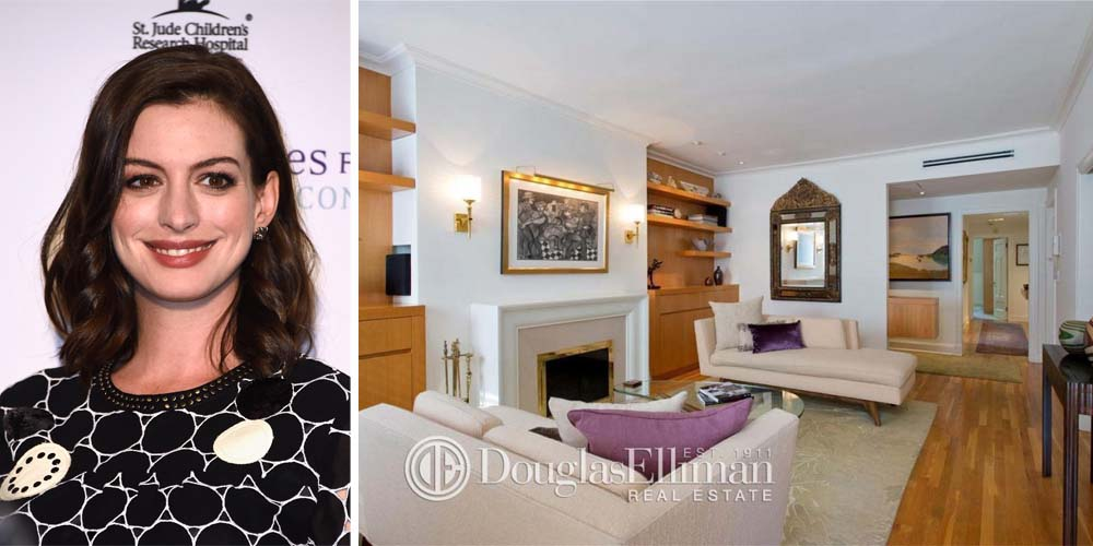 Anne hathaway buys new york apartment anne hathaway 39 s homes for Hathaway furniture new york