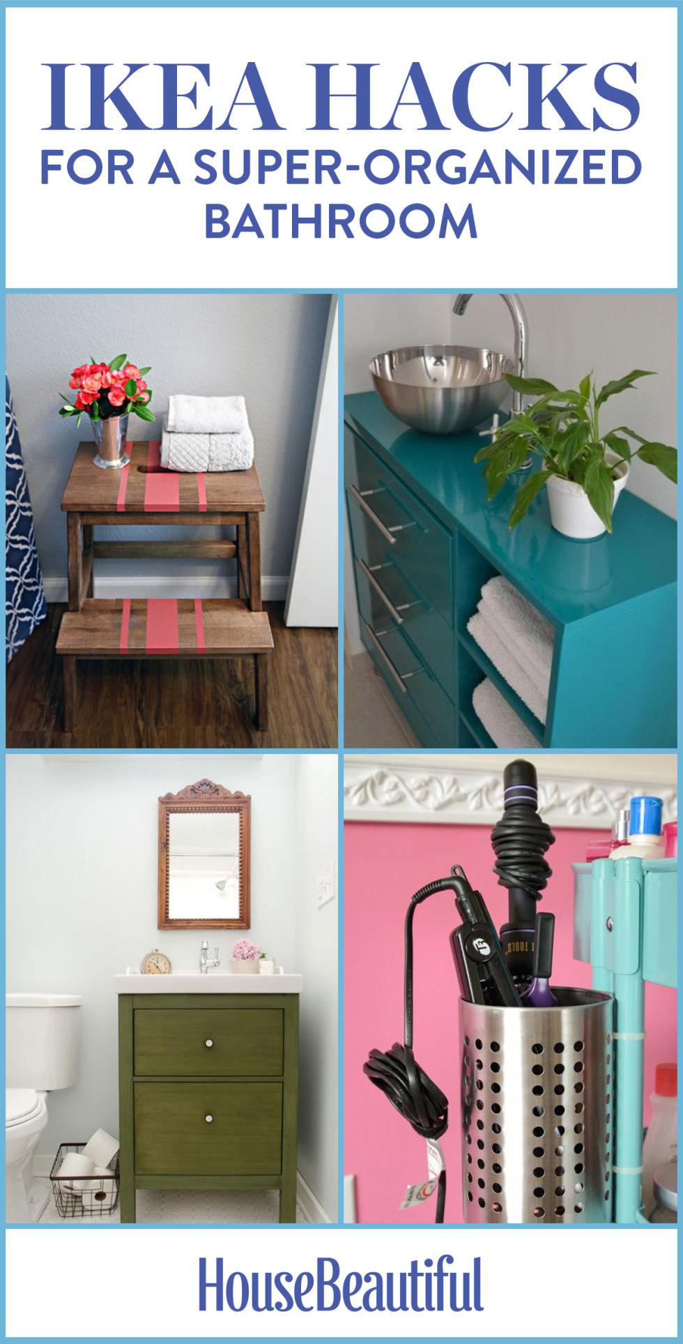 11 ikea bathroom hacks new uses for ikea items in the bathroom