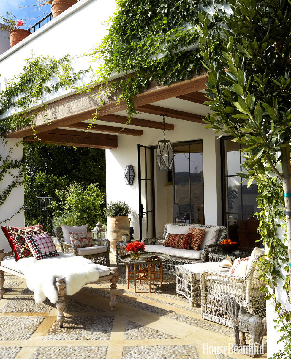 House Beautiful Small Spaces 85 patio and outdoor room design ideas and photos