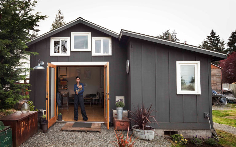 Garage Turned Tiny House Michelle De La Vega Seattle