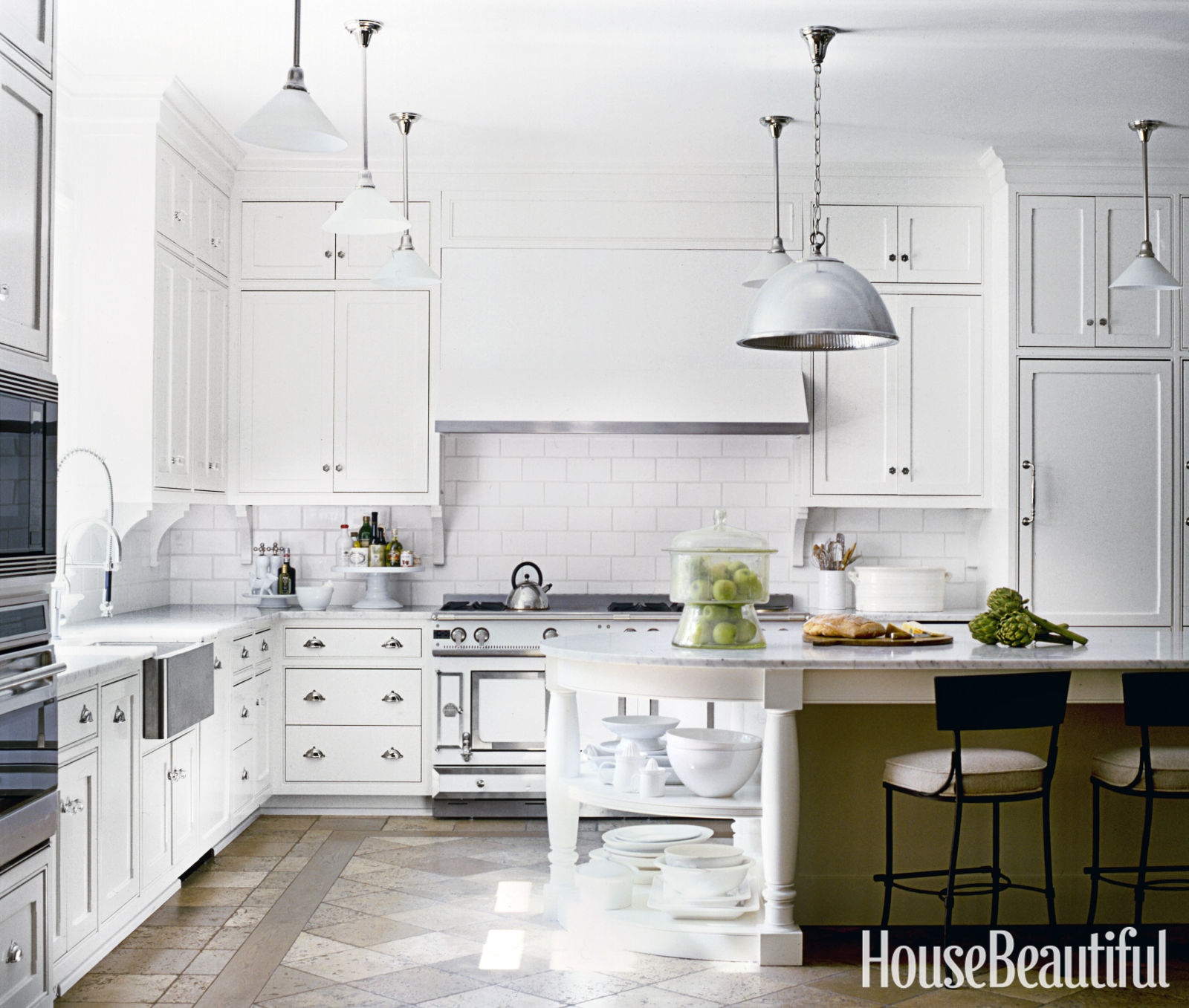 Beautiful White Kitchens white kitchen design ideas - decorating white kitchens