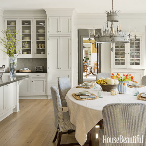 White Kitchen clean contemporary white kitchen Spend Money On Good Cabinets And They Wont Ever Feel Dated Says Sarah Blank Of Sarah Blank Design Studio Look To The Architectural Details Of The Home