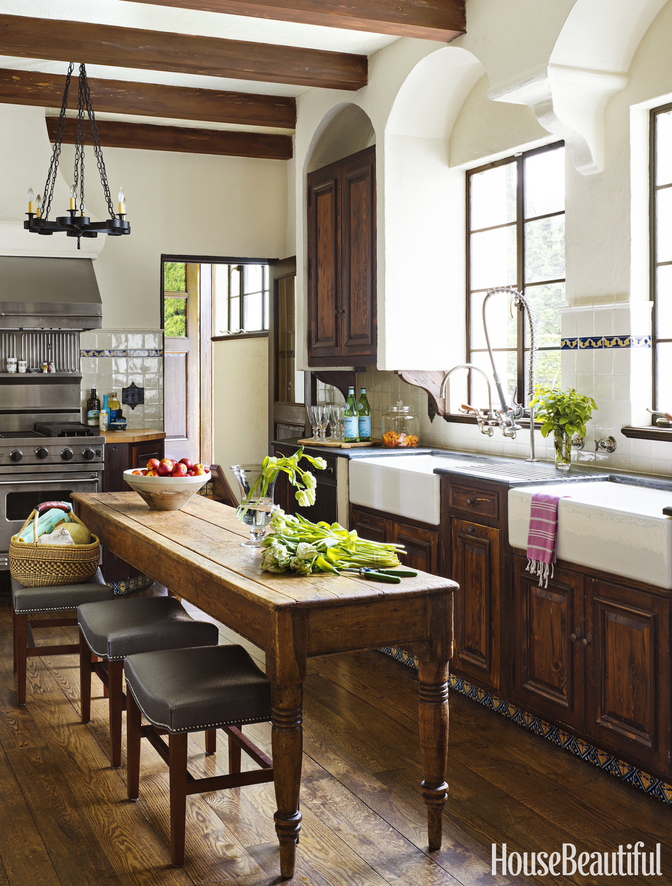 Spanish colonial revival house leigh anne muse and lili for Kitchen remodel inspiration