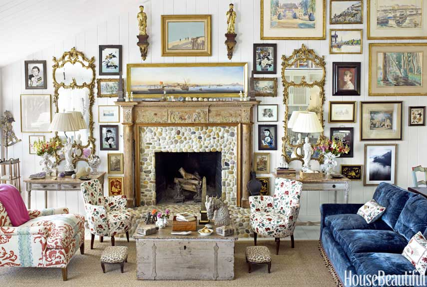 Cozy Fireplaces - Fireplace Decorating Ideas