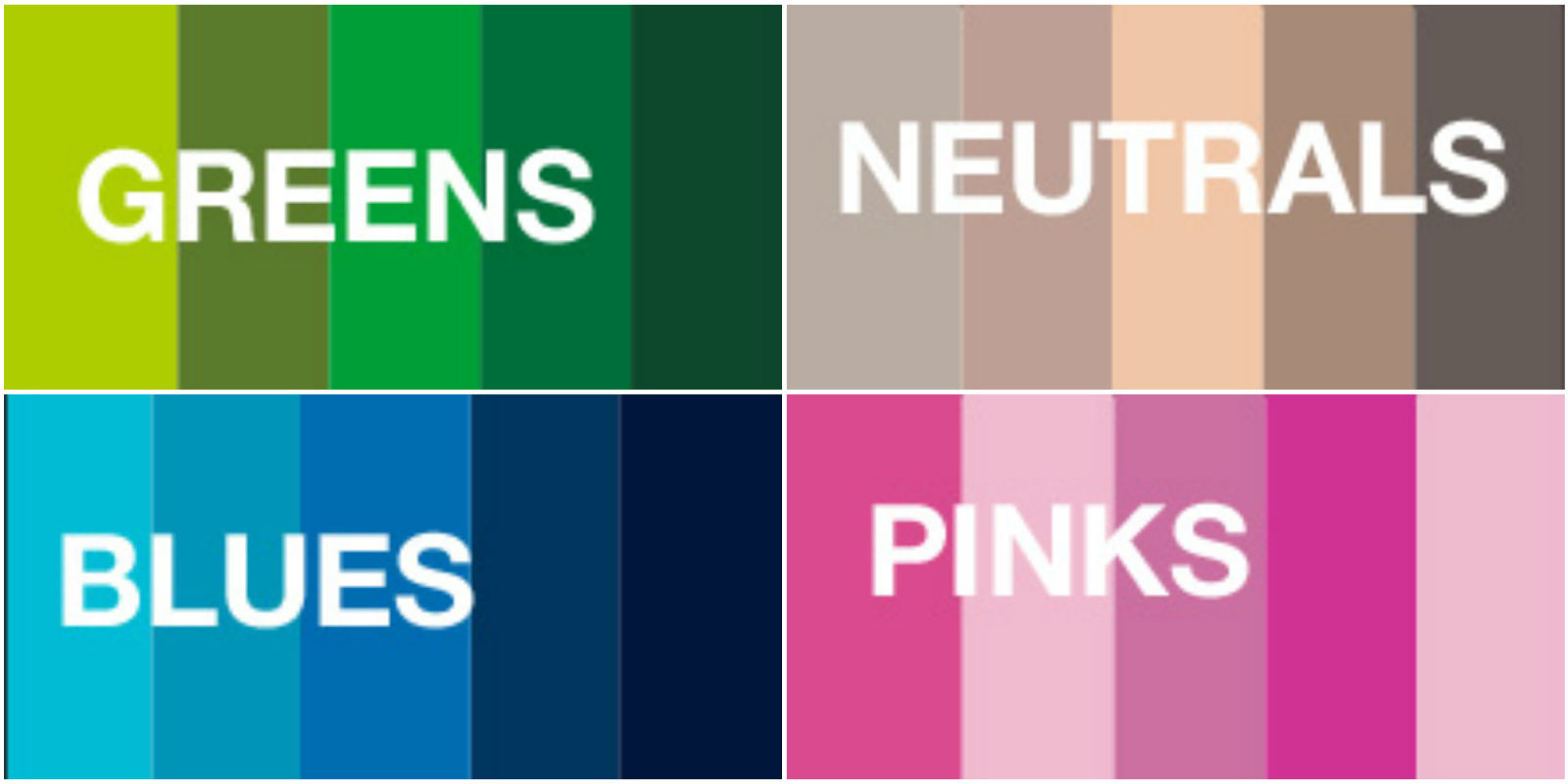 new pantone colors 2016 color trends