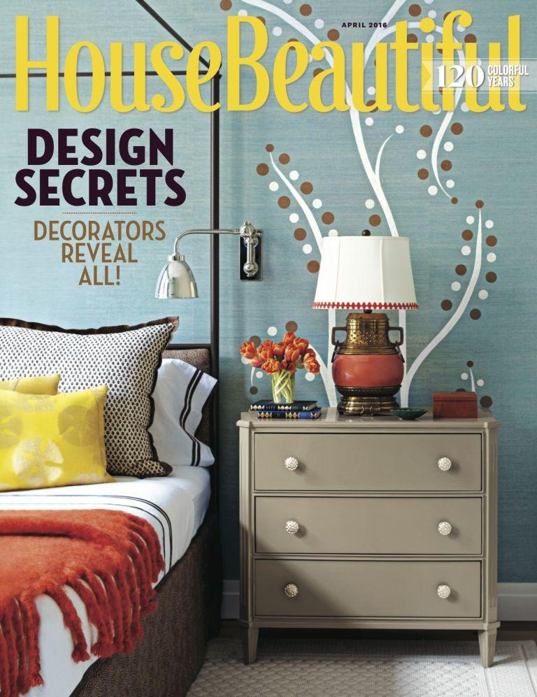 april 2016 house beautiful - shopping guide