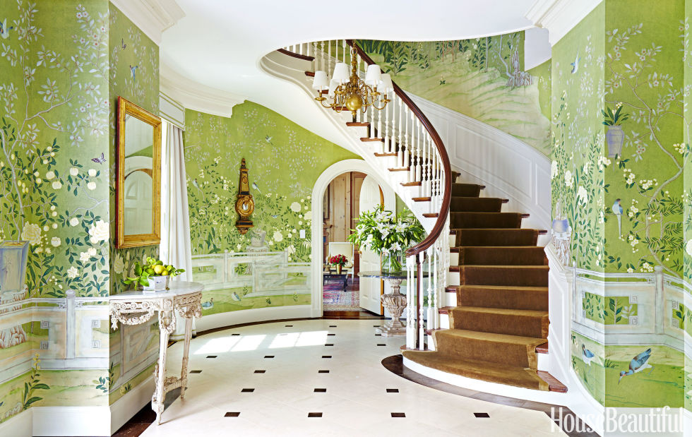 Wonderful 70+ Foyer Decorating Ideas   Design Pictures Of Foyers   House Beautiful Part 28