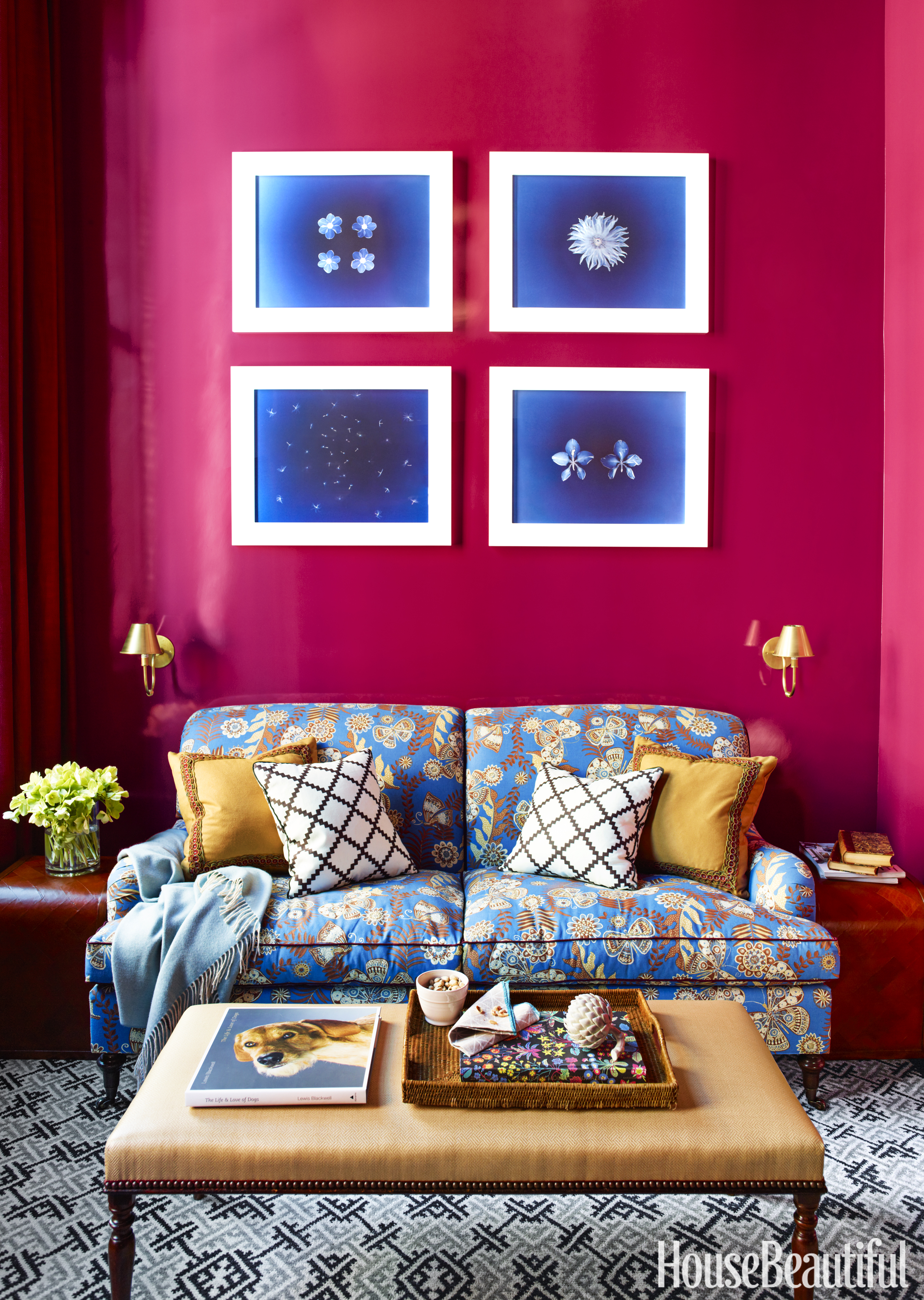 Colour For Study Room: Katie Ridder Interior Design