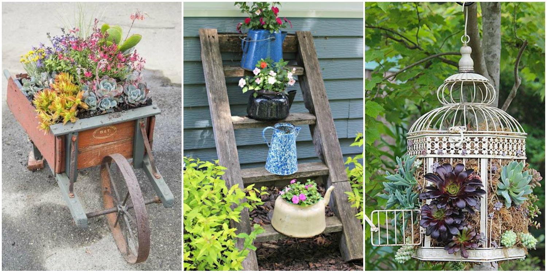 Unique Container Gardening Ideas Creative Container Gardens