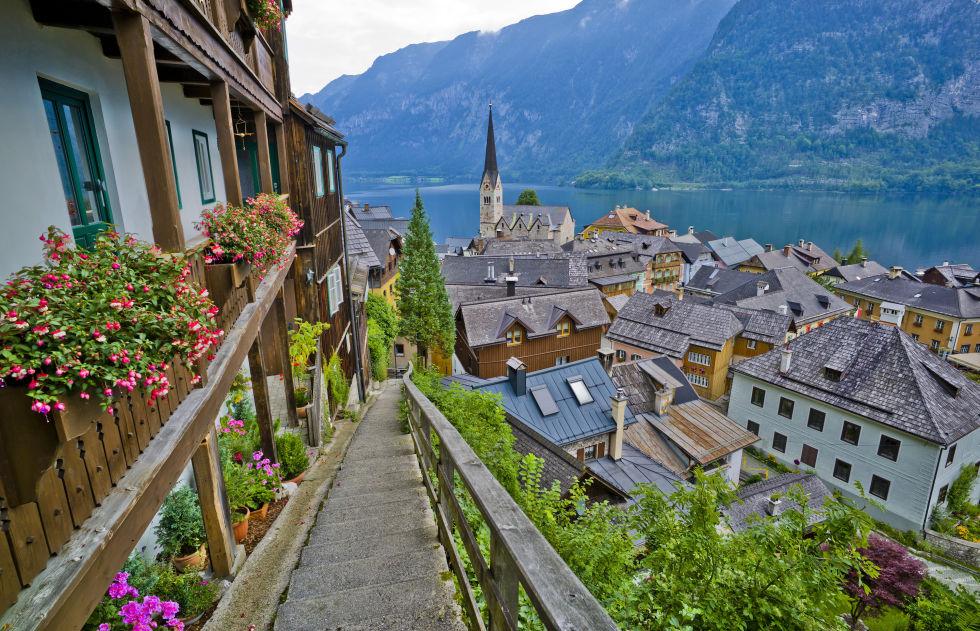 Hallstatt Austria European Vacation Ideas - Us quaint towns map