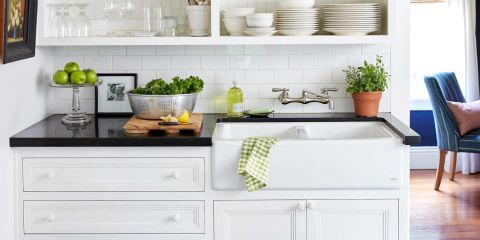 Scamming Kitchen Cabinets