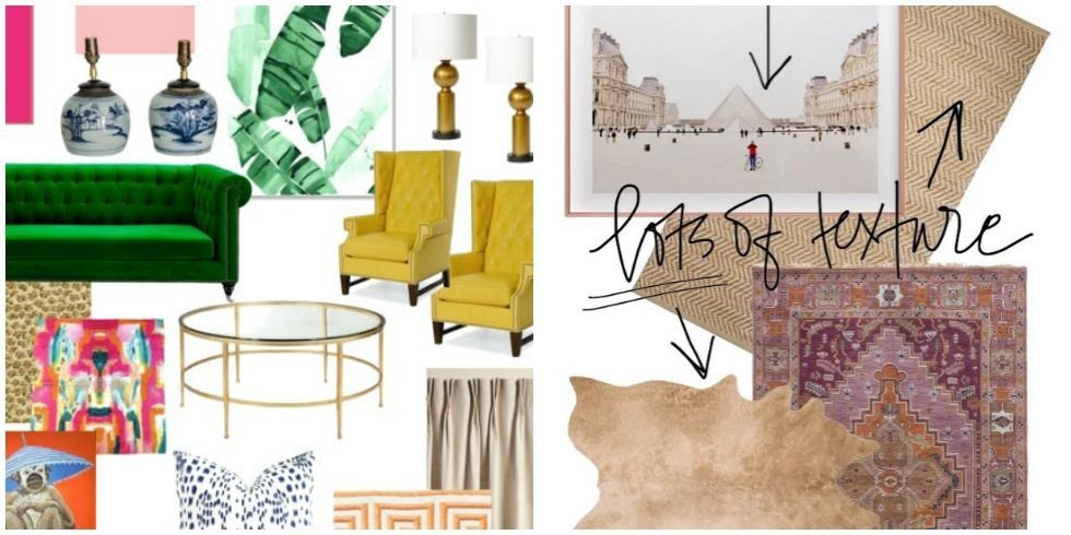 One Room Challenge Inspiration Board Trends