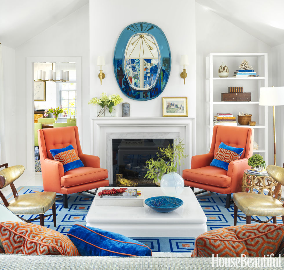 Living Room Decor Orange 145+ best living room decorating ideas & designs - housebeautiful