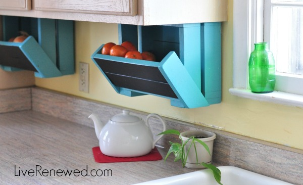 box up fresh produce - Kitchen Countertop Storage Ideas