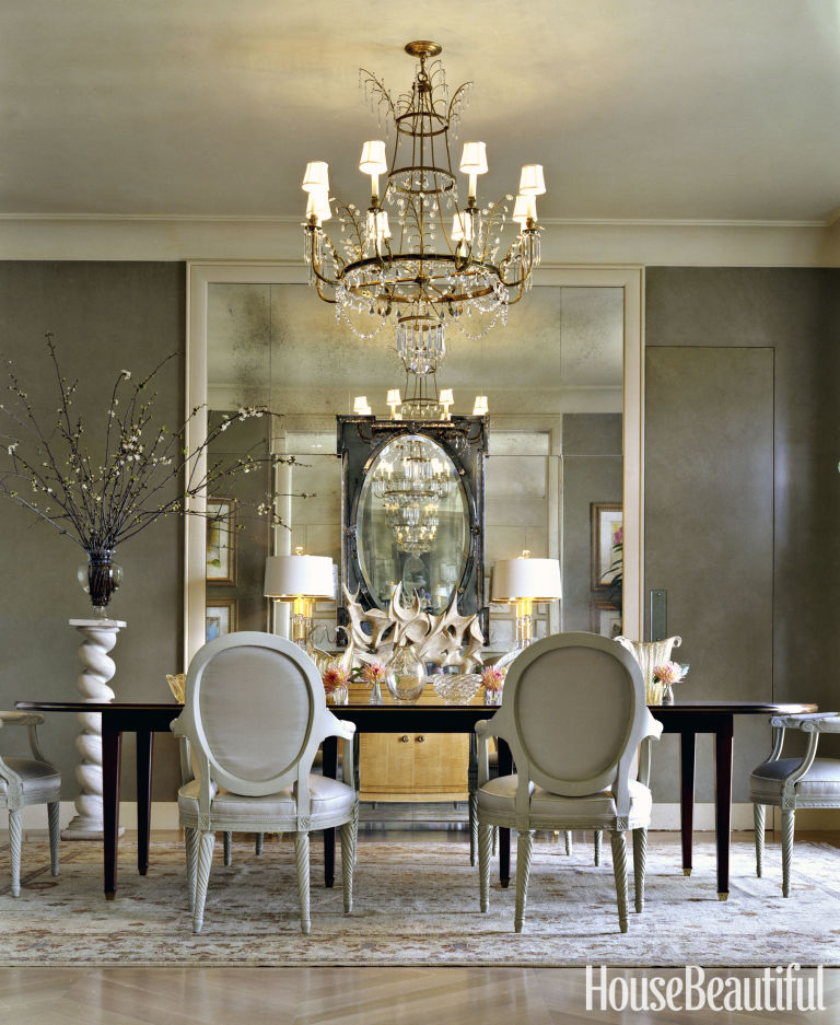 In A Dining Room