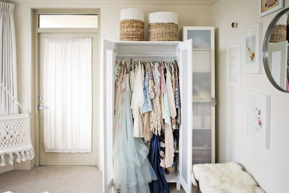 Storage Ideas for a Bedroom Without a Closet - Genius Clothing Organization  Ideas - Storage Ideas For A Bedroom Without A Closet - Genius Clothing
