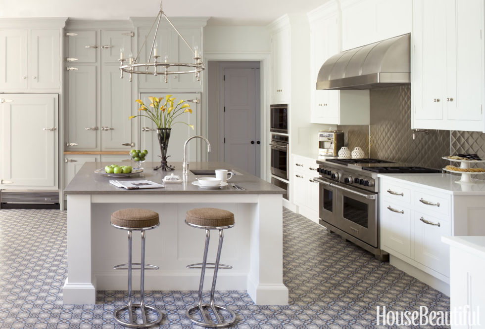 delightful Kitchen Design Paint Colors #4: House Beautiful