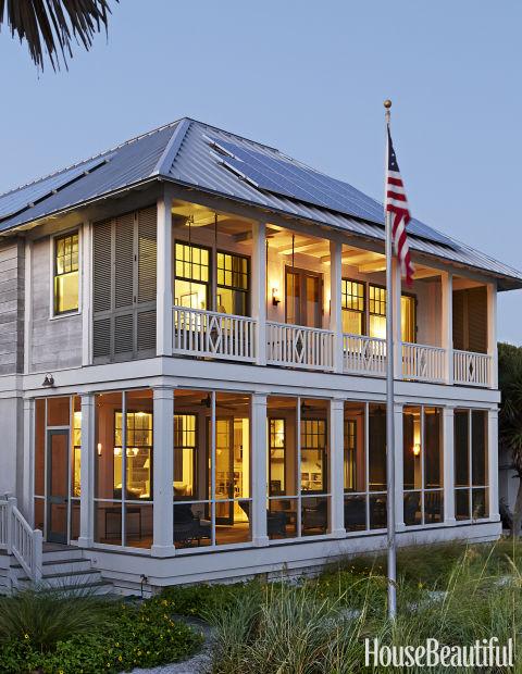 Seaside Beach House Tammy Connor Interior Design