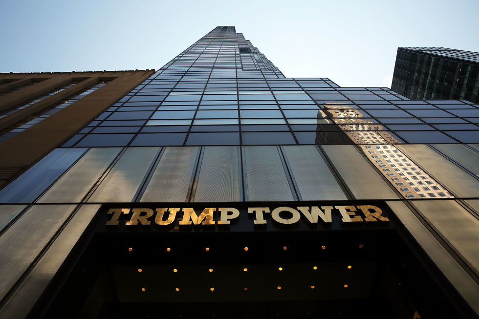 Things You Didnt Know About Donald Trumps NYC Home - Trump towers in the us map